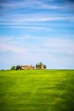 Tuscany på våren Fotografering för Bildbyråer