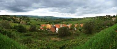 Tuscany panorama Royalty Free Stock Photography