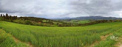Tuscany panorama Stock Photography