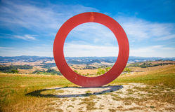 Tuscany panoramic view Royalty Free Stock Photo