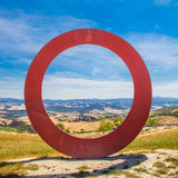 Tuscany panoramic view Royalty Free Stock Photography