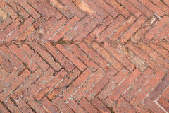 Tuscany paving pattern Stock Photography