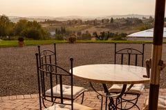 Tuscany położenie obraz stock