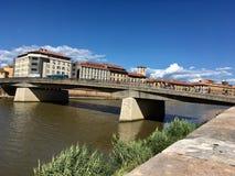 Pontevecchio. Tuscany pontevecchio florence italy river Stock Photos