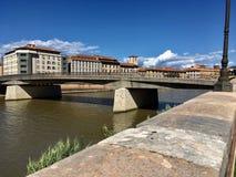Pontevecchio. Tuscany pontevecchio florence italy river Royalty Free Stock Images
