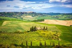 Tuscany przy wiosną Fotografia Stock