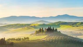 Tuscany przy wiosną zdjęcia royalty free