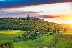 Tuscany przy wiosną obraz royalty free