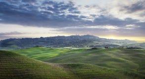 Tuscany region i Italien Royaltyfri Foto