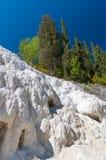 Tuscany region, Italy. Bagni San Filippo - Natural beauty made f Stock Image