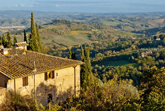 Tuscany, rural landscape Stock Images