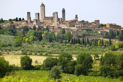 Tuscany, san gimignano Stock Images