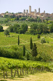 Tuscany, san gimignano Royalty Free Stock Photography