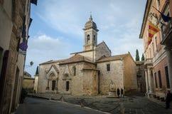 Tuscany - San Quirico d'Orcia Stock Photo