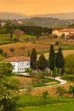 Tuscany scena fotografia stock