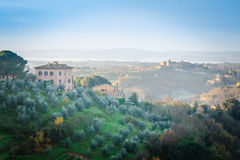 Tuscany, Siena - Obrazy Stock
