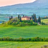 Tuscany at spring Royalty Free Stock Photos