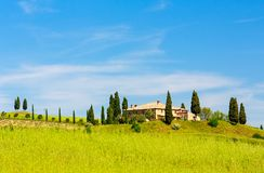 Tuscany at spring Royalty Free Stock Photos