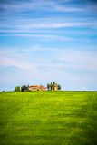 Tuscany at spring Stock Image