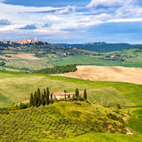 Tuscany at spring Royalty Free Stock Photo