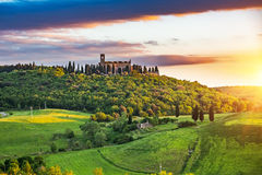 Tuscany at spring Royalty Free Stock Image