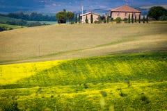 Tuscany, spring landscape Royalty Free Stock Image