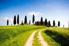 Tuscany, spring landscape Stock Image