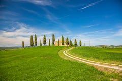 Tuscany spring landscape Royalty Free Stock Photos