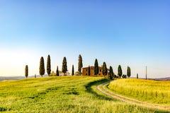 Tuscany, spring landscape Royalty Free Stock Images