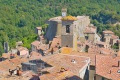 Tuscany stad Royaltyfria Foton