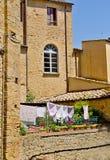 Tuscany stad Arkivfoton