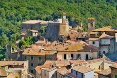 Tuscany stad Royaltyfri Foto