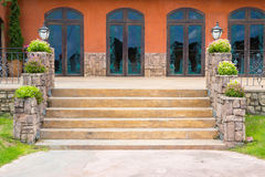 Tuscany steps Royalty Free Stock Photos