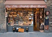 Tuscany store Stock Image