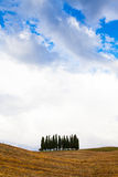 Tuscany before the storm Royalty Free Stock Photos