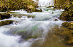 Tuscany stream. A small stream in the Tuscan countryside Stock Photo