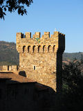 Tuscany Style Lookout Tower 2. Tuscany Style Lookout Tower Belonging to a Winery in Napa Valley, California Royalty Free Stock Images