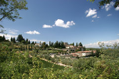 Tuscany summer Stock Image