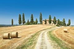 Tuscany summer landscape Royalty Free Stock Photos