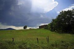 Tuscany summer landscape Stock Photos