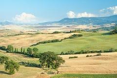 Tuscany summer landscape Stock Photography