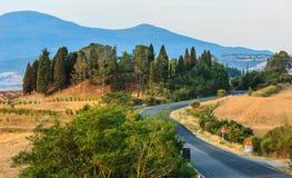 Free Tuscany Sunrise Countryside, Italy Stock Photography - 101310382