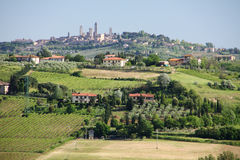 Tuscany town Royalty Free Stock Image
