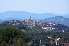 Tuscany town Royalty Free Stock Photography