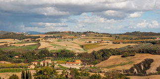 Tuscany. Typical rural landscape near Siena Stock Images
