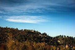 Tuscany - typical scenic landscape, Italy Stock Photo