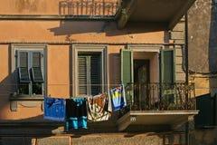 Tuscany typowi okno Zdjęcie Royalty Free