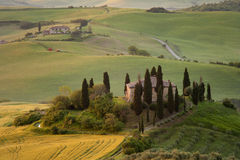 Tuscany villa Stock Photo