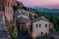 Tuscany villa fotografering för bildbyråer
