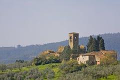 Tuscany village Stock Photo